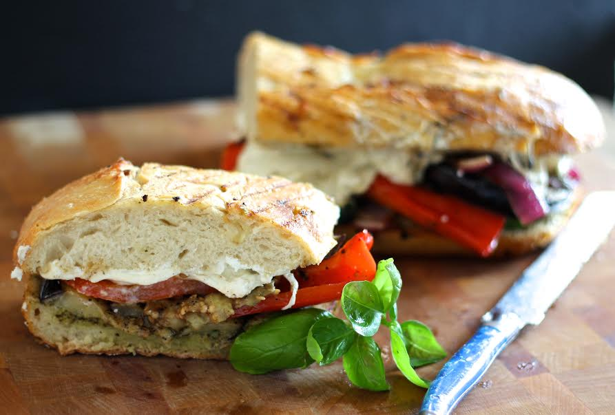 Grilled Vegetable Panini – Everyday Gourmet with Blakely